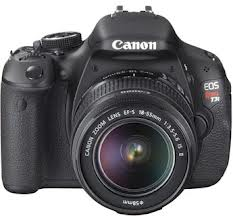 Digital SLR Canon Rebel T3i camera