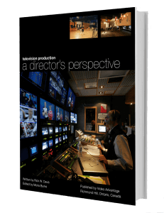 Television Production: a Director's Perspective book cover