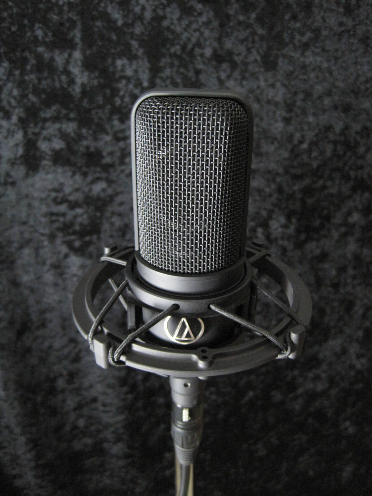 Audio technica microphone used mostly for voice recording